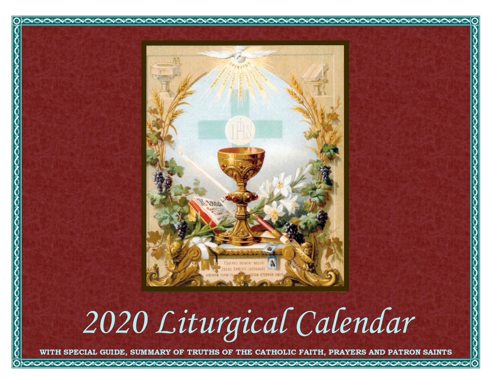 2020 - 2018 Liturgical Calendar 2020 Liturgical Calendar – Servi.org
